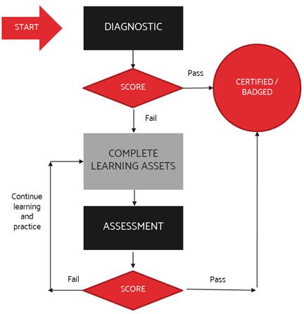 ETU Certification Process from Diagnostic to Badging