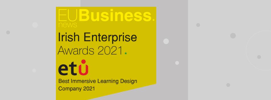 ETU Best Immersive Learning Design Company 2021